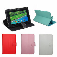 """New Folding PU Leather Stand Case Cover Skin for 7"""" iRulu A23/A33 Android Tablet"""