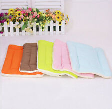 Pet Pad Mat Dog Cat Puppy Crate Fleece Kennel Warm Bed Mat Padding House Cozy
