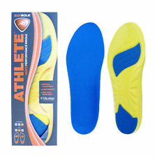 Sof Sole Athlete Performance Max Cushion Insoles Running Arch Support Relief