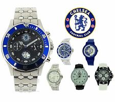 Genuine Chelsea FC Football Club Boys Mens Digital Analogue Watch Gift for Him