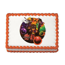 Bakugan Edible Image Desgin Frosting Sugar Cake Decoration Topper