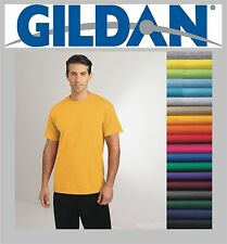 100 Gildan T-SHIRTS BLANK BULK LOTS Colors or 112 White Plain S-XL Wholesale 50