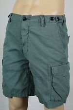 Polo Ralph Lauren Green Grey Relaxed Fit Chino Cargo Shorts NWT