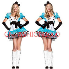 Costume Alice in Wonderland Queen of hearts Ladies Fancy Dress Cosplay OUTFIT M