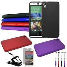 Phone Case For HTC Desire Eye Hard Cover Car Charger Screen Protector Re-Stylus