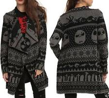 S M L XL Disney THE NIGHTMARE before CHRISTMAS Jack punk gothic Cardigan SWEATER
