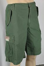 Denim Supply Ralph Lauren Green Slim Fit Cargo Shorts NWT