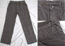 FAT FACE Designer Mens Chino Trousers Storm Grey Classic Fit RRP £50 Size 34S