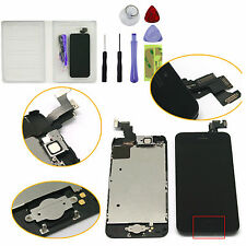 For iPhone 5C LCD Touch Screen Digitizer Assembly Replacement+Home Button+Camera