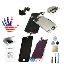Front LCD Display Touch Digitizer Screen Assembly Replacement For iPhone 5S New