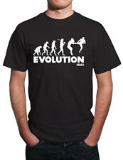 Evolution of MMA Mixed Martial Arts T-Shirt. All Sizes!