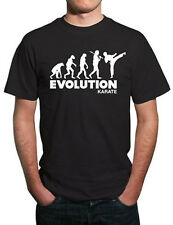 Evolution of Karate Martial Arts T-Shirt. All Sizes!