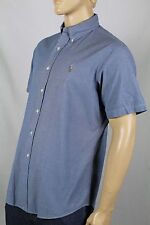 Ralph Lauren Blue Custom Short Sleeved Dress Shirt Multi Colored Pony NWT
