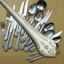 Oneida LAKEWOOD - CHOOSE from this nicely detailed odd lot of stainless flatware