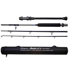 SHAKESPEARE AGILITY EXP BOAT 4 PIECE TRAVEL ROD CHOOSE SIZE SEA FISHING
