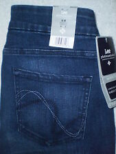LEE Platinum Mid Barely Bootcut Stretch Women Pull On Denim Jeans Many Sizes New