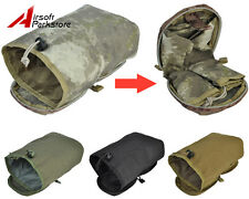 Tactical Military Airsoft Paintball Molle Utility Magazine DUMP Drop Pouch Bag