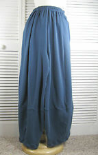 4 Panel  Organic Knit Pants in NEW Colors / 1XL- 4XL Blue Fish Red Moon Clothing