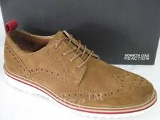 KENNETH COLE REACTION NEVER TOO HYPE TAN SUEDE LACE-UP OXFORD