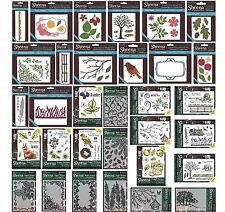 SHEENA DOUGLASS CRAFTERS COMPANION PERFECT PARTNERS STAMPS & METAL DIES - NEW