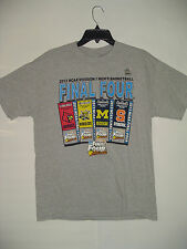 2013 NCAA MEN'S Final Four Shirt Grey MICHIGAN  LOUISVILLE WICHITA  SYRACUSE
