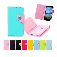 For Alcatel one touch mobile phone luxury Wallet Card Holder Full Cover Case