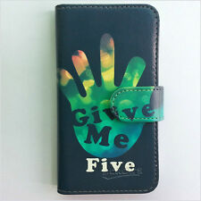 Brand new Give me five wallet Flip case cover for Samsung/iphone/Nokia/HTC