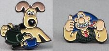 Wallace and Gromit pin  badges. Sold together or on their own. You choose