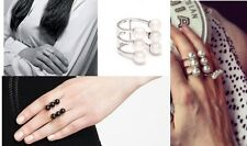 R254 Forever 21 Wedding Brides Bridal Accessories Elbe Pearl 4 Style Ring US