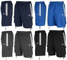 Lonsdale Shorts Cargo design Gym, Holiday Casual Mens Sizes S M L XL XXL 3XL 4XL