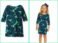 LITTLE LILLY PULITZER CHARLENE DRESS UNDER THE PALMS S(4-5) M(6-7) XL (12-14)