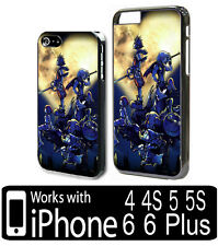 Kingdom Hearts Gamer iPhone 4 4s 5 5s 6 6 Plus Plastic Phone Case Cover Game kh1