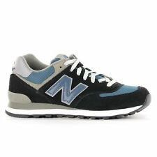 New Balance Classic Traditionnels M574 Black Blue Mens Trainers