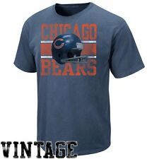 Chicago Bears Vintage Roster III T-Shirt - Navy Blue