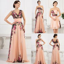 2015 Long / Short Prom Formal Evening Bridesmaids Gowns Festival Party Dress NEW