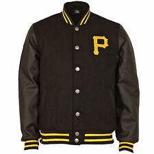 Majestic Men's Pittsburgh Pirates Balfour Letterman Jacket