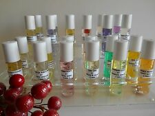 PERFUMES OILS FOR WOMEN 1/3 ROLL-ON ( CONCENTRATE ) GLASS BOTTLE. LIST # 1