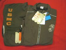 NEW BALANCE RUNNING SUIT EGA & MARINES TO JACKET MARINES TO PANTS LEG