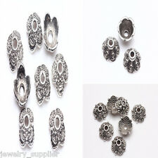 50/100Pcs Tibet Silver Have Many Different Shapes Hollow Out Pendant
