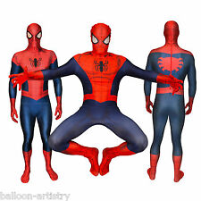Adult Mens Marvel Official Spiderman Morphsuit Fancy Dress Party Costume