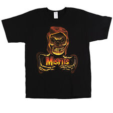 OFFICIAL Misfits - Red Ghoul T-shirt NEW Licensed Band Merch ALL SIZES