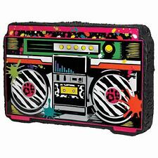 Pinata Party Pack Supply Buster Stick Blindfold Candy Filler Boom Box Rap Music