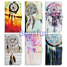 Bcov Colorful Dream Catcher Slot Wallet Leather Cover Case For Samsung Galaxy