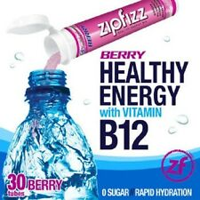 Zipfizz Healthy Energy Drink with B-12 - 30 Tubes - PICK FLAVOR - NEW