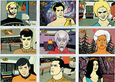 STAR TREK THE ORIGINAL SERIES ART AND IMAGES EXPANDED UNIVERSE SINGLE CARDS