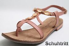 Tamaris Sandalen alt rose Leder Applikationen Vario