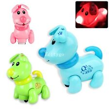 Pet Dog Electronic Walking Moving Puppy Light Music Sound Kids Children Toy