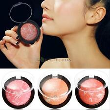 Hot  Beauty 3 Color Makeup Cosmetic Blush Blusher Powder Palette  Fashion