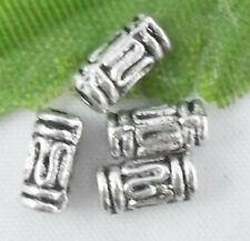 Wholesale 140/300Pcs Tibetan Silver  Spacer Beads 6.5x3.5mm(Lead-free)