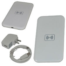 Qi Wireless Charging Pad Mat + Receiver for Samsung Galaxy S4 MC-02A